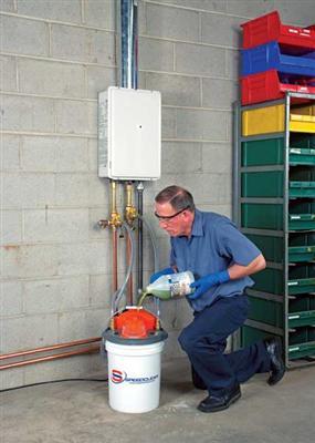 Régler et nettoyer les principaux organes de fonctionnement des chaudières