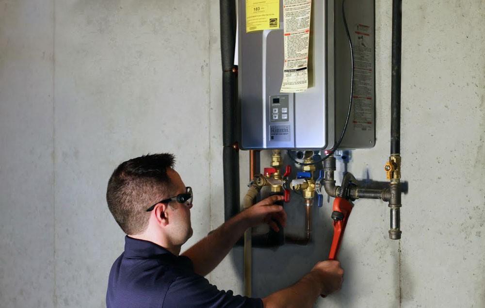 Dépannage de radiateur à gaz